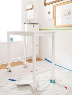 a great furniture painting tutorial