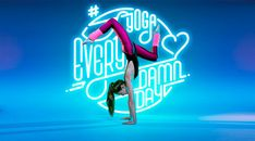 'Yoga makes the better lovers' and MAY DAY number Björn EWERS and his semi-spontaneous May studio event project in Berlin - News - GoSee Typography Letters, Lettering, Typography Design, Yoga Position, Yoga Pictures, Branding, Yoga Art, Yoga Photography, Beautiful Yoga