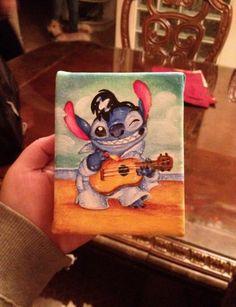 stitch canvas #stitch#disney