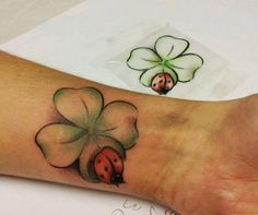 If you want to make Tattoo Clover with ladybug yourself and you are looking for the suitable design or just interested in tattoo, then this site is for you.