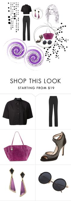 """""""Untitled #47"""" by geniusmermaid ❤ liked on Polyvore featuring T By Alexander Wang, Bottega Veneta, HOBO, L.K.Bennett, Alexis Bittar and PAM"""