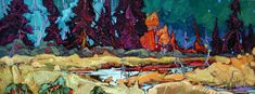 """""""Macdonald lake wetlands, Atlin, BC"""" x oil on board Canadian Artists, Oil, Landscape, Board, Photography, Painting, Scenery, Photograph, Fotografie"""