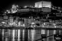 #PORTO #BLACKANDWHITE Portugal, Douro, New York Skyline, Photography, Travel, Port Wine, Landscape Photography, Boats, Photos
