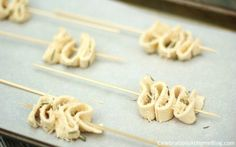 Party Appetizer - Romano Puff Pastry Ribbons - Celebrations at Home