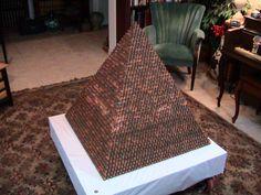 $2,890-worth Penny Pyramid