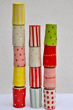 Giebelhaus Keramik