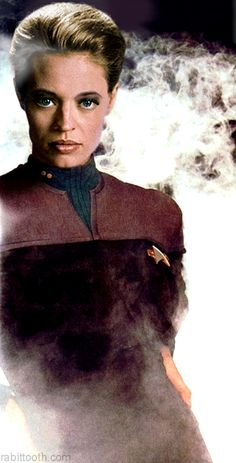 "//Star Trek Voyager-The Character ""Seven of Nine"" Was Played By Actress Jeri Ryan.-MFB"