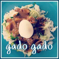 Leuk met kids - Het allerbeste recept voor Gado Gado met echte Indische pindasaus #leukmetkids. Wist je dat Gado Gado een ideaal is gerecht om kinderen groente te laten eten?