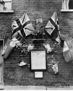 A Shrine Around Roll Of Honour Attached To The Wall House In Palace
