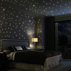 Starry lighting..to go with theme of enchanted forest..