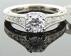 TACORI Reverse Crescent Platinum  Half-Way Diamond Engagement Ring - amp, quotReverse, Crescentquot, Diamond, Engagement, HalfWay, Platinum, Ring, tacori
