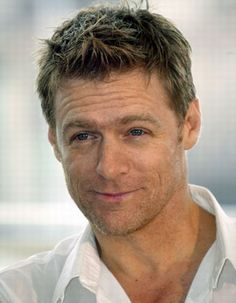Bryan Adams...love his music..lyrics..'The Only Thing That Looks Good On Me Is You'...smiles..