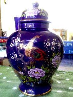 Blue Ginger Jar