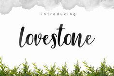 Lovestone 30%off by fontasticlab on @creativemarket