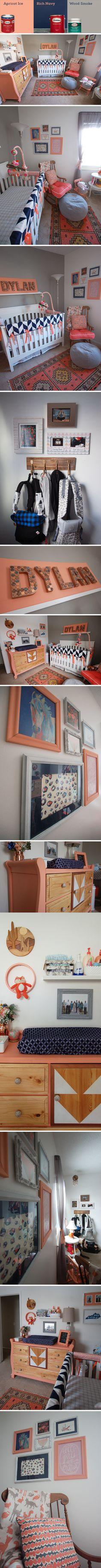 Love this nursery decor!