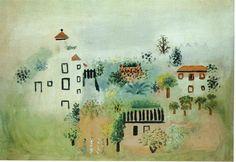 Landscape, 1928 by Pablo Picasso, Neoclassicist & Surrealist Period. Naïve Art (Primitivism). landscape