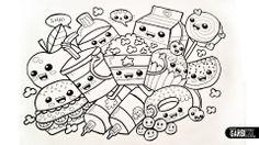 Drawing Cute Food - Easy and Kawaii Graffiti by Garbi KW