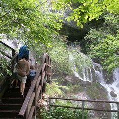 La cascata del Rio Bianco è una delle perle del Gruppo di Brenta