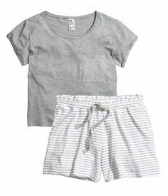 7816efa929 Jersey knit draw string pajama set. Cute Pajama Sets