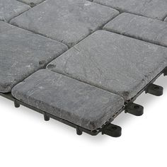 Stone Deck Tiles Interlocket Do It Yourself Garden Winds