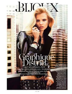bijoux: magdalena frackowiak by txema yeste for vogue paris february 2013   visual optimism; fashion editorials, shows, campaigns & more! #fashion #editorial