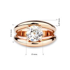 Boccadilupo or rose Alliance Or Rose, Boot Bling, Pomellato, Jewelry Rings, Jewellery, Modern Jewelry, Best Gifts, Rings For Men, Engagement Rings