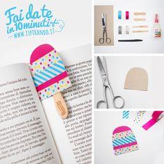 Come creare un segnalibro con washi tape e bastoncini di legno / DIY icicle bookmark made with wood stick and washi tape • #DIY #washitape #summer #bookmark #icicle