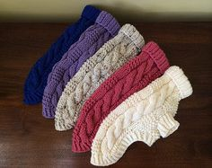 Perro suéter pescador clásico Cable Knit por bychancedesigns