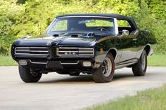 Triple-black GTO Judge to come up for auction at Mecum St. Charles