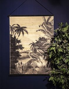 Heron In The Jungle Decorative Wall Hanging | Love Frankie
