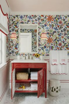 12 Sensational Rooms from the San Francisco Decorator Showcase Packed With Inspiration Cole Son, New Ravenna, Ceiling Murals, Woven Chair, Bathroom Hardware, Kids Bath, California Homes, Mosaic Tiles, House Design