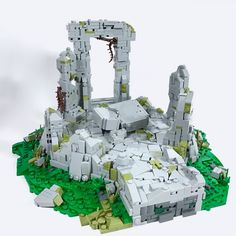 The Stone Table Der Steintisch von Carter Witz Lego Design, Lego Technic, Narnia, Legos, Diorama, Margaret Hamilton, Amazing Lego Creations, Lego Castle, Lego Worlds
