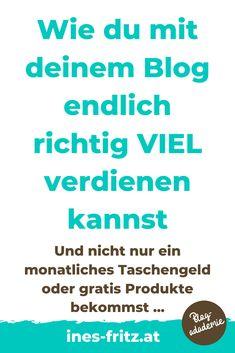 Geld verdienen als erfolgreiche Bloggerin: Kriegst du gerade mal ein paar Euro im Monat übers Bloggen obwohl du viel Arbeit reinsteckst? Weißt du nicht, wie du am besten bei Kooperationen verhandelst oder hast du keine Ahnung, wie viel Geld du überhaupt verlangen kannst? Die besten Tipps! #geldverdienenblog #blogger #blogstrategie #erfolgreichalsblogger #geldverdienenmitblog #mehrgeldmitkooperationen #kooperationenalsblogger #tippsfuerblogger #blogstrategie #erfolgreichbloggen Content Marketing, Affiliate Marketing, Business Inspiration, Blog Writing, Web Design, Fritz, Website, Tips, Alter Ego