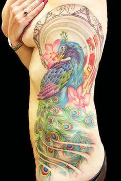 Significado da Tatuagem de Pavão