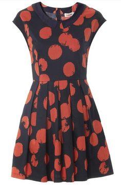 Persimmons Dress