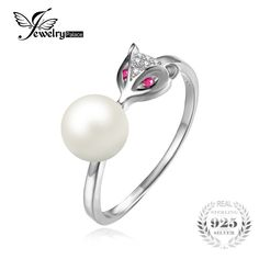 Fox 5mm Cultured Freshwater Pearl Created Pink Sapphire Accented Wrap Ring 925 Sterling Silver Jewelry For WomenExtraBeautiful.co.zaFox 5mm Cultured Freshwater Pearl Created Pink Sapphire Accented Wrap Ring 925 Sterling Silver Jewelry For Women Price: 8.33 & FREE Shipping #fashion|#accessories|#plussize|#extrabeautiful