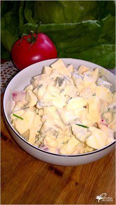 Wyrazista w smaku sałatka z sosem musztardowo-chrzanowym (3) Polish Recipes, Polish Food, Potato Salad, Ale, Grilling, Lunch Box, Menu, Potatoes, Favorite Recipes