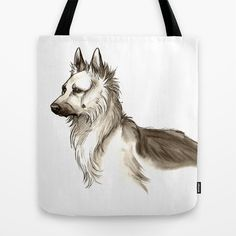Love for German Shepherds Tote Bag by Jessie L.P. - $22.00 Also check out my Facebook page! https://www.facebook.com/pages/Jessie-Pryor-Art/634023236615143?bookmark_t=page And my other pages! http://fineartamerica.com/profiles/1-jessica-pryor.html http://www.bluecanvas.com/jaelynn
