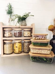 The Most Creative Kitchen Supply Ideas 2019 Kitchen Pantry Ideas - Rossana Home Design, Pantry Organisation, Kitchen Organization, Kitchen Storage, Kitchen Decor, Kitchen Design, Pantry Ideas, Pantry Storage Containers, Plastic Containers, Kitchen Supplies