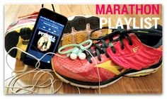 At an average of 158bpm this is the perfect 4 hour Marathon Playlist. #running #music #fitfluential