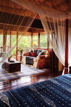 Belize luxury eco-retreat Blancaneaux Lodge  ♡ #BohoLover http://amberlair.com