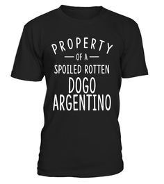 "# Dogo Argentino Funny Dog Shirts for Men Women Dog Owners .  Special Offer, not available in shops      Comes in a variety of styles and colours      Buy yours now before it is too late!      Secured payment via Visa / Mastercard / Amex / PayPal      How to place an order            Choose the model from the drop-down menu      Click on ""Buy it now""      Choose the size and the quantity      Add your delivery address and bank details      And that's it!      Tags: Property of Spoiled Rotten…"