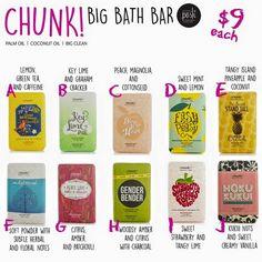 Perfectly Posh Chunk bars! Natural and nourishing! https://jenniferbonti.po.sh/front #perfectlyposh #spa #skincare #pamperyourself #chunks #chunkbars #natural #sheabutter #beauty #soap #bathtime