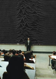 (^o^) Best lesson ever: Joy Division - Unknown Pleasures
