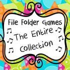 This product gets you access to ALL music file folder game (folk song) collections on TeachersPayTeachers