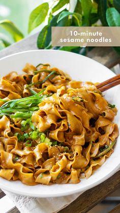 Asian Recipes, New Recipes, Vegetarian Recipes, Dinner Recipes, Cooking Recipes, Favorite Recipes, Healthy Recipes, Rice Cake Recipes, Asian Noodle Recipes