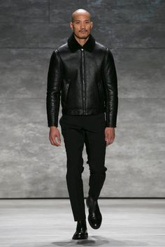 A bomber jacket from the Todd Snyder show. (Photo: Nowfashion)