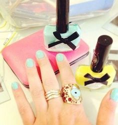 What your mani says about you: If you wear pastel: you're craving sweets.