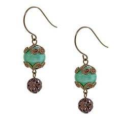 Vintage Drop Earrings | Fusion Beads Inspiration Gallery
