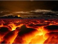 Lava at sunset, just awesome!